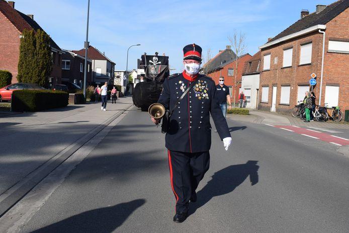 Jan De Belleman genoot op het parcours van 'zijn' carnavalsstoet.