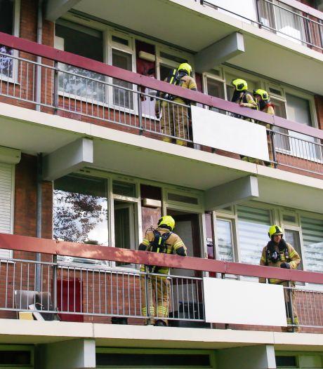 Eén persoon lichtgewond bij keukenbrandje in Zwijndrecht