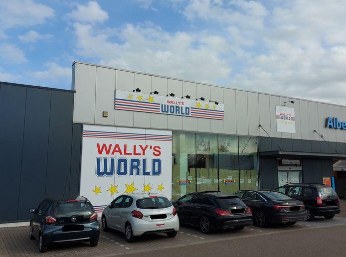De nieuwe Wally's World aan de Molderdijk in Mol.