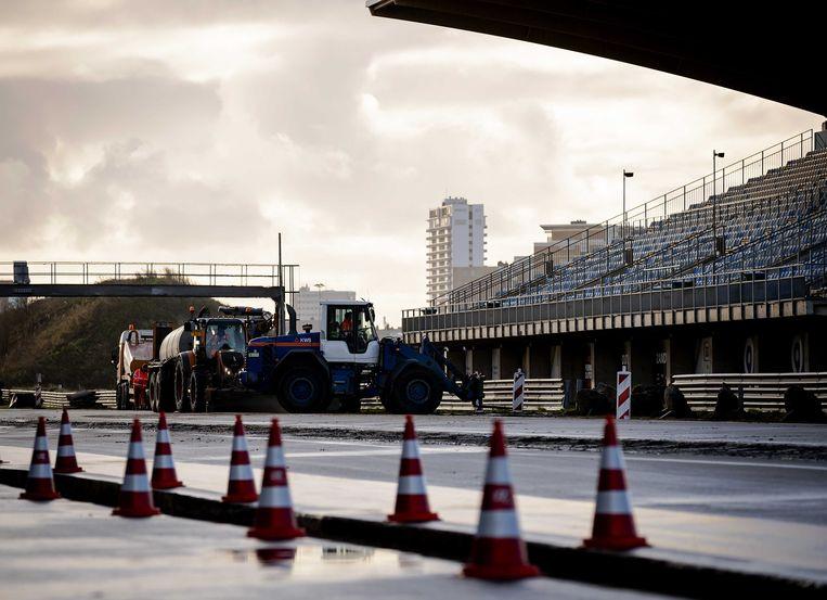 Werkzaamheden op Circuit Zandvoort. Beeld ANP