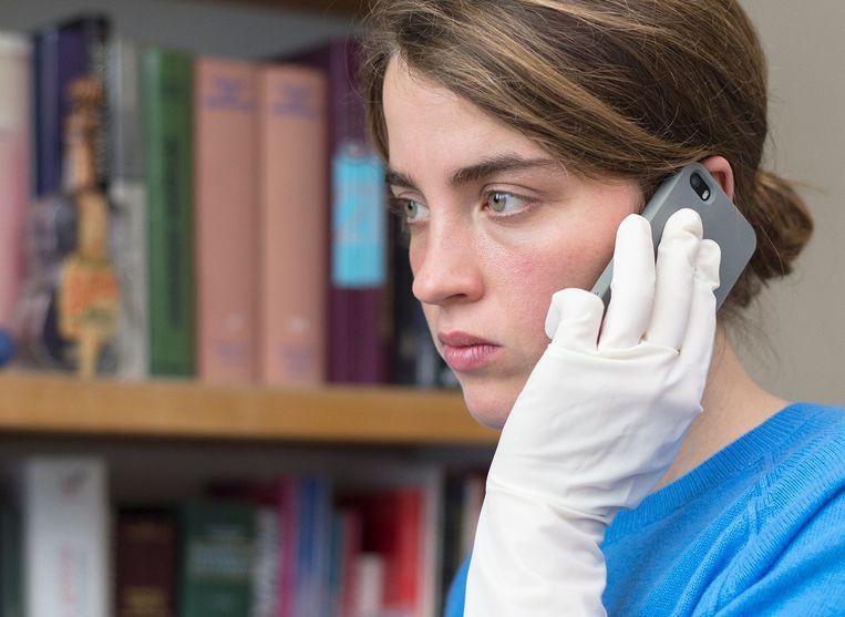 Adèle Haenel in La fille inconnue (Jean-Pierre en Luc Dardenne, 2016). Beeld