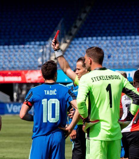 Historische Klassieker: twee eigen goals voor Feyenoord en twee rode kaarten
