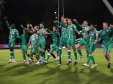 FC Dordrecht-spits Nikolas Agrafiotis is niet gaan zweven na heldenrol: 'Weet ook dat het beter kan en moet'