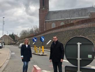 Kruispunt Onkerzelestraat met Kampstraat wordt heraangelegd