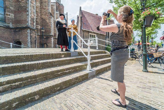 Toeristen terug in Delft