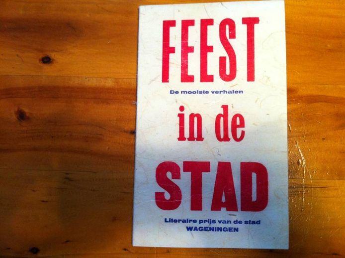 Het boekje Feest in de Stad. Foto: Arnold Winkel/DG