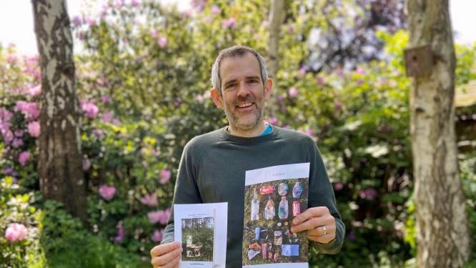 150 kilogram zwerfvuil opgeraapt in 3,5 jaar: plogger Jean-Michel (46) start crowdfunding voor fotoboek van afvalvangsten