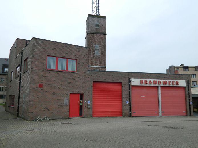 Een archiefbeeld van de brandweerpost Waarschoot.