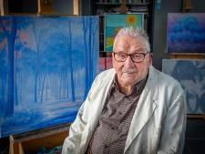 Generaties leerden schilderen van Overasseltse Piet; nu stopt de 89-jarige kunstenaar ermee