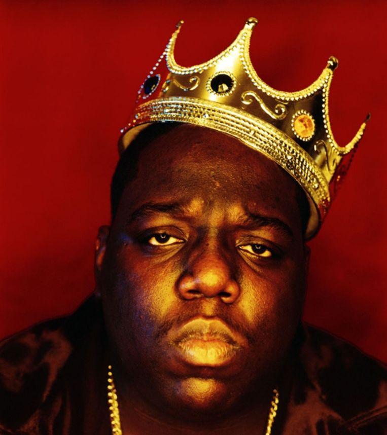 De rapper Notorious B.I.G. Beeld rv