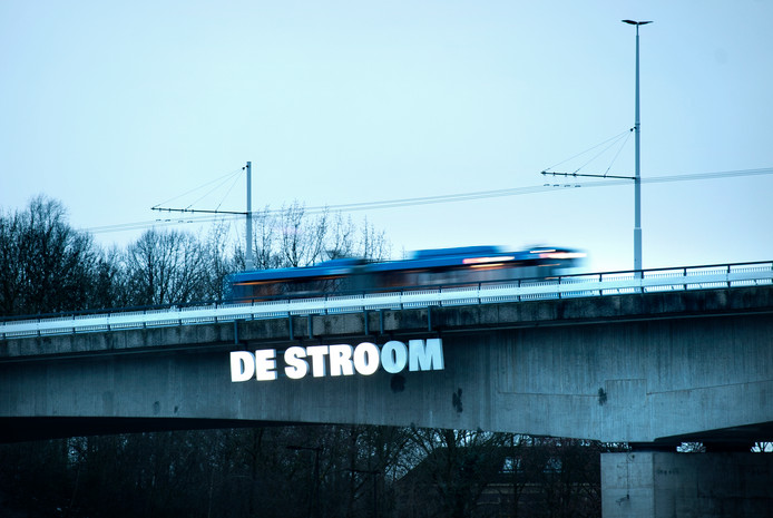 De Nelson Mandelabrug in Arnhem.