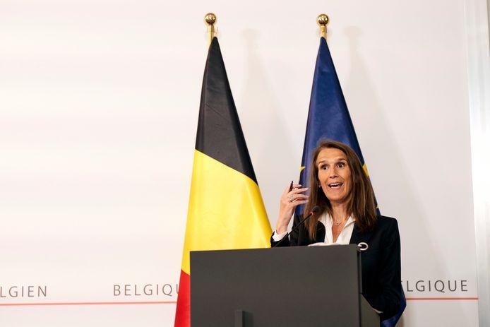 Premier Wilmès spreekt de bevolking toe, voor de tweede keer in vijf dagen.