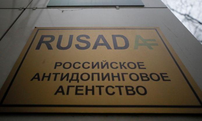Het Russische anti-dopingagentschap Rusada.