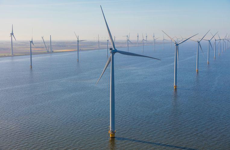 Hernieuwbare energie op zee is volgens EU-vicevoorzitter Frans Timmermans 'een waar Europees succesverhaal'. Beeld Avalon / Universal Images Group vi