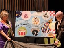 Bijzonder schilderij voor jubilerende Harmonie Kaatsheuvel
