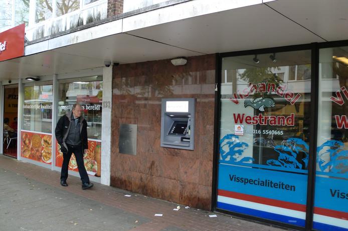 De veiligheid rondom de laatste openbare pinautomaat van de wijk Westrand kan niet worden gegarandeerd