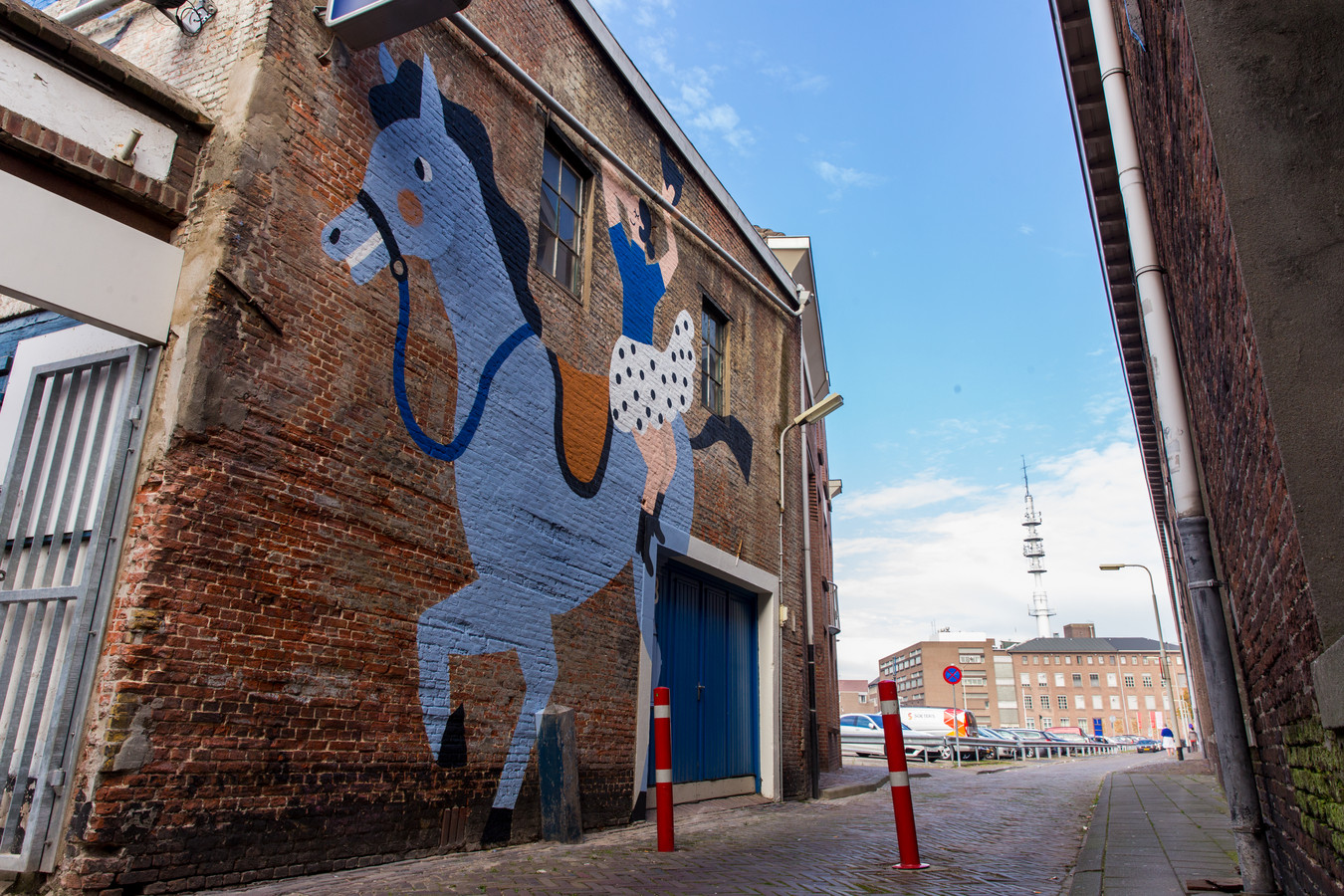 Blind Walls Gallery Breda muurschilderingen.