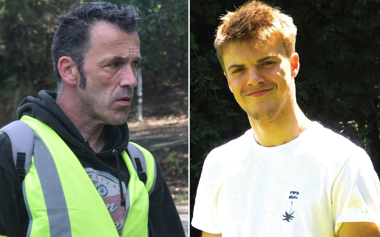 Theo's vader Laurent reisde al meermaals naar Byron Bay om zijn zoon te zoeken.