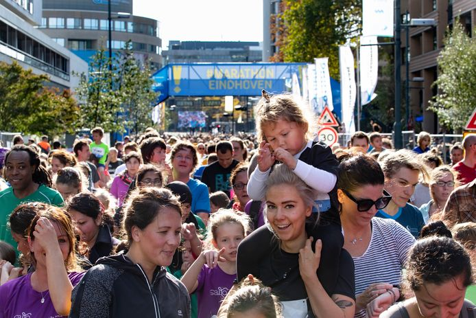 finish marathon Eindhoven