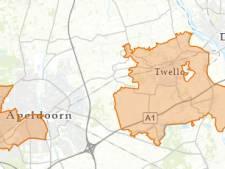 Duizenden huishoudens in Apeldoorn, Wilp en Twello zonder stroom