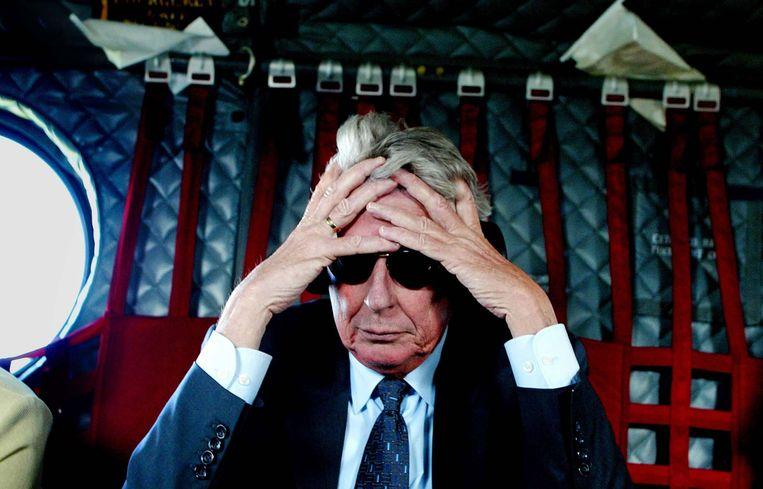 Kok in gedachten tijdens een bezoek aan Bosnië. Beeld ANP