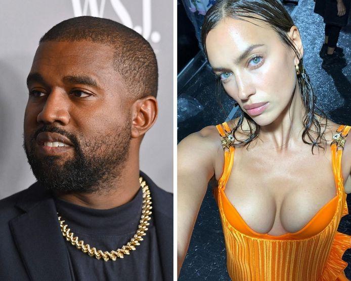 Kanye West en Irina Shayk
