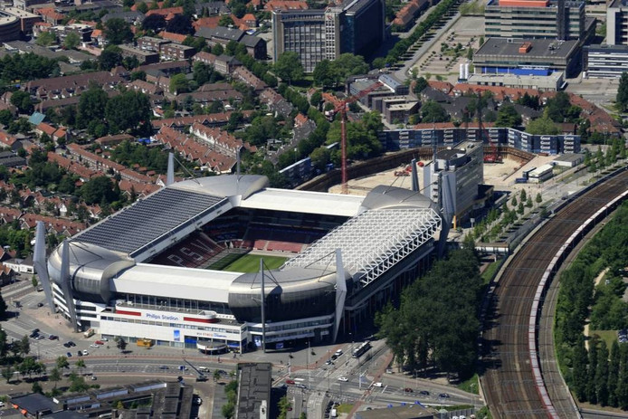 Luchtfoto Philips Stadion