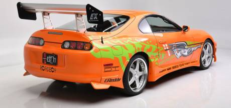 Auto van overleden Paul Walker uit Fast & Furious gaat bij veiling voor een recordbedrag weg