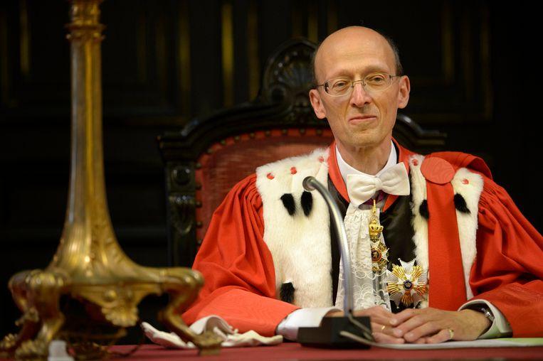 Jean de Codt, eerste voorzitter van het Hof van Cassatie. Beeld Photo News