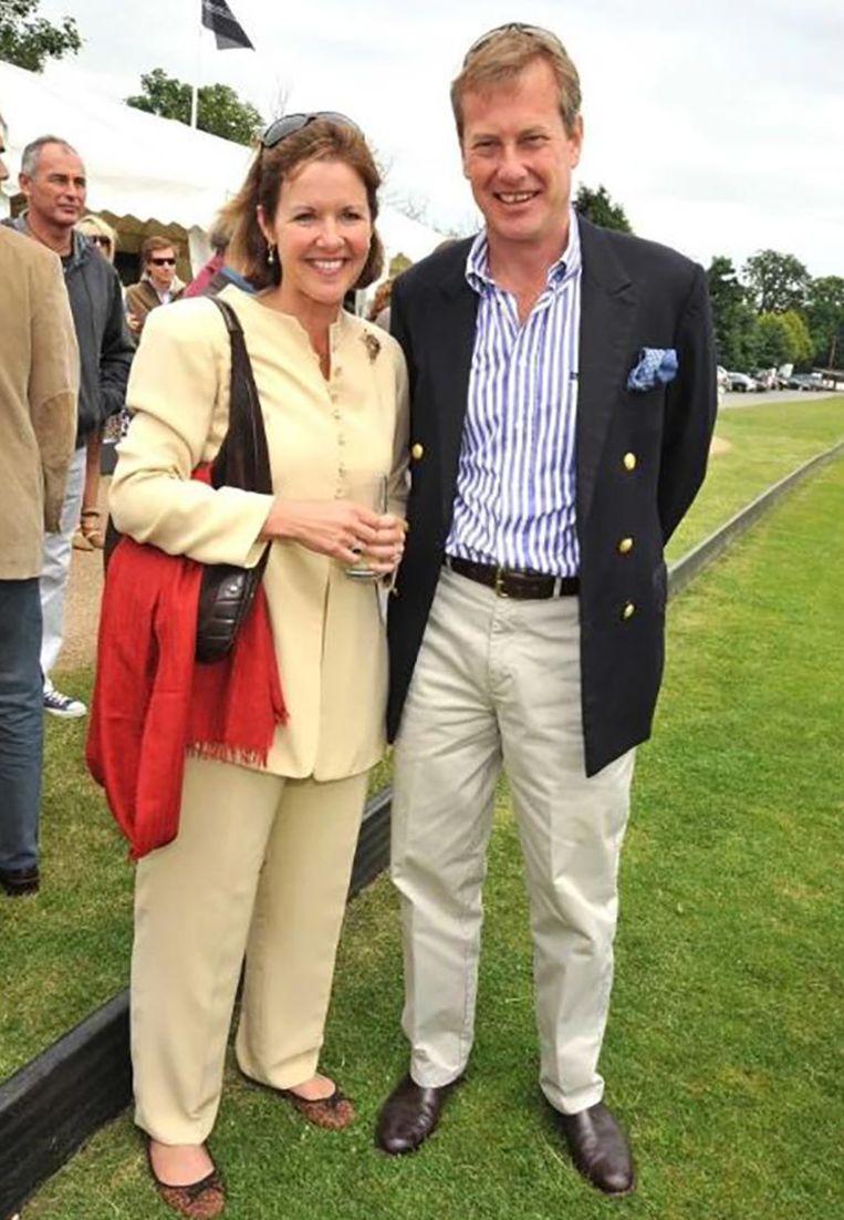 Ivar Mountbatten en zijn ex-vrouw Penny Thompson. Beeld Kos
