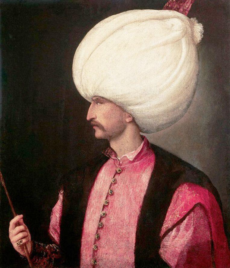 Süleyman I de Prachtlievende rond 1530. Beeld