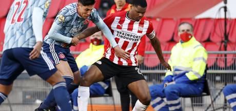 Geïnspireerd PSV krijgt te weinig tegen Ajax