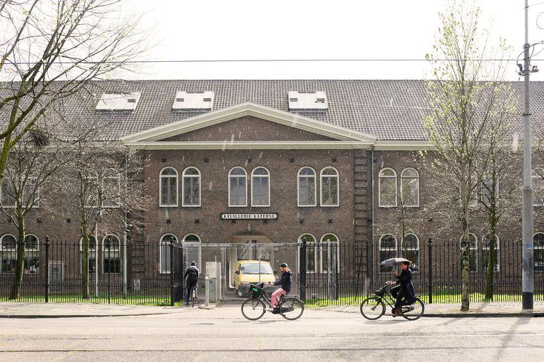 De Rijksakademie op de Sarphatistraat in Amsterdam. Beeld Hollandse Hoogte / Jordi Huisman
