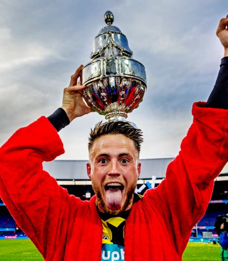 De bekerheld van 2017:  Vitesse zit voor altijd in het hart van 'Rickygoal'