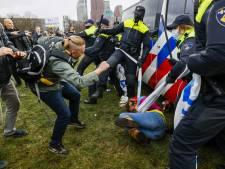 Zestien van de twintig aangehouden demonstranten nog vast na protest op Malieveld