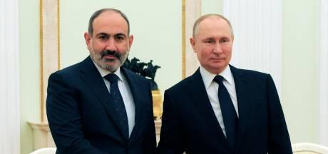Armenië vraagt Poetin om steun vanwege spanningen met Azerbeidzjan