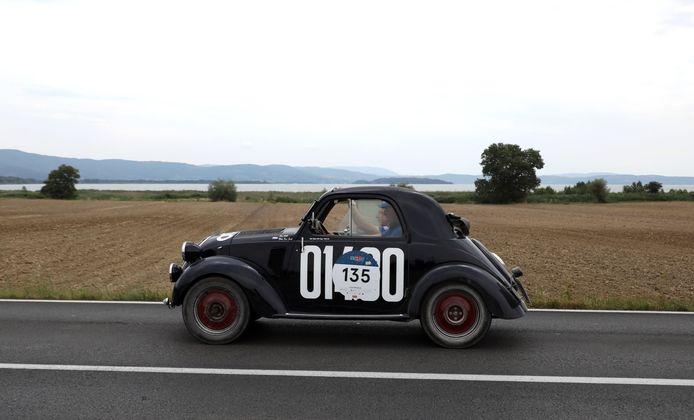 Uit 1948 komt deze Fiat B Topolino