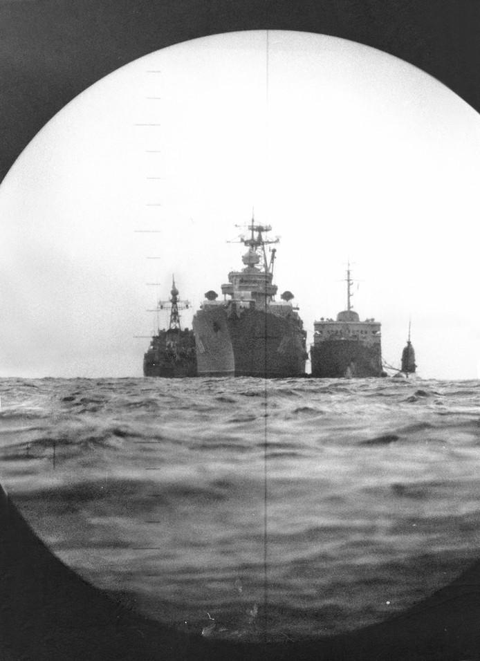 Foto uit het boek In het Diepste Geheim spionage operaties van Nederlandse onderzeeboten door Jaime Karremann