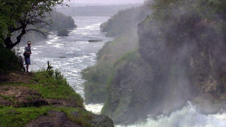 Murchison Falls National Park in Oeganda, waar Koetsier voor het laatst gezien werd Beeld epa