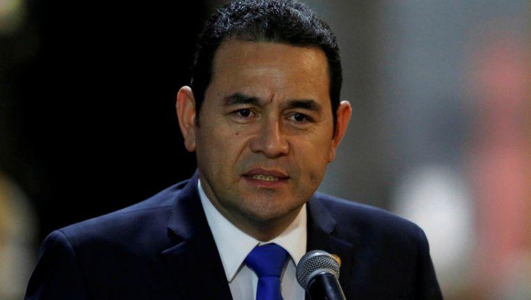 Jimmy Morales, de president van Guatemala