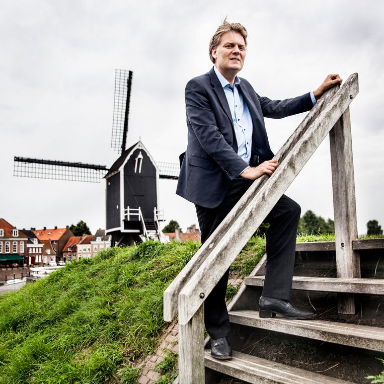 Jan Hamming, burgemeester van Zaanstad. Beeld Aurélie Geurts