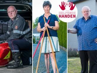"""""""Solidariteit is zo belangrijk in dit leven"""": drie vrijwilligers vertellen waarom ze de slachtoffers van het noodweer willen helpen"""