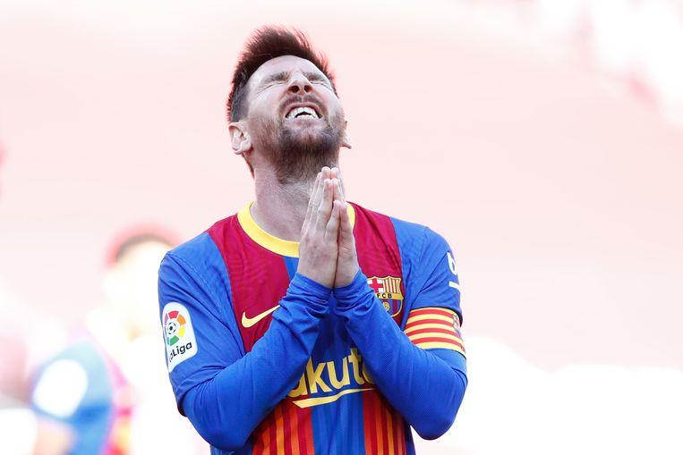 Lionel Messi. Beeld AP