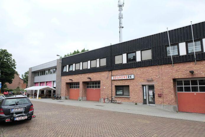 De voormalige brandweerkazerne in de Dagenraadstraat in Mechelen