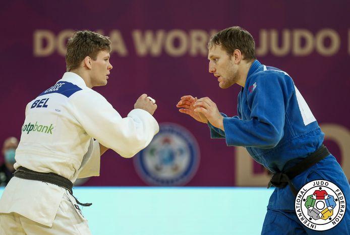 Matthias Casse Judo Masters Doha 2021 uitgeschakeld in eerste ronde tegen Zweed Pacek