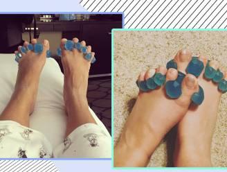 """Bizar of wondermiddel tegen pijnlijke voeten? 'Yoga Toes' stretchen en spreiden je tenen. """"Compleet gek is het niet"""", zegt podoloog"""