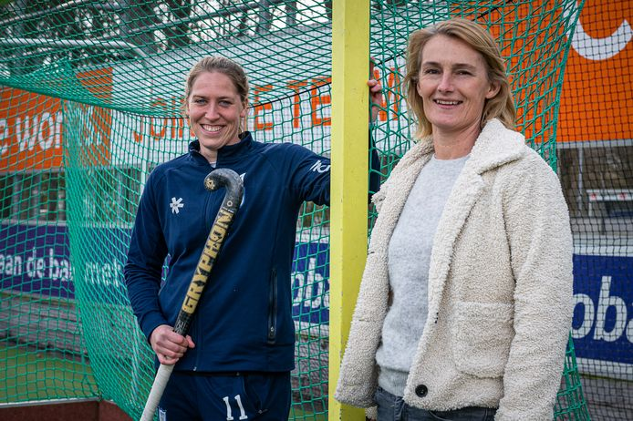 Pien van Nes (links) en Mariëtte Verstappen stralen bij het succes van HDM. Foto: Frank van der Leer