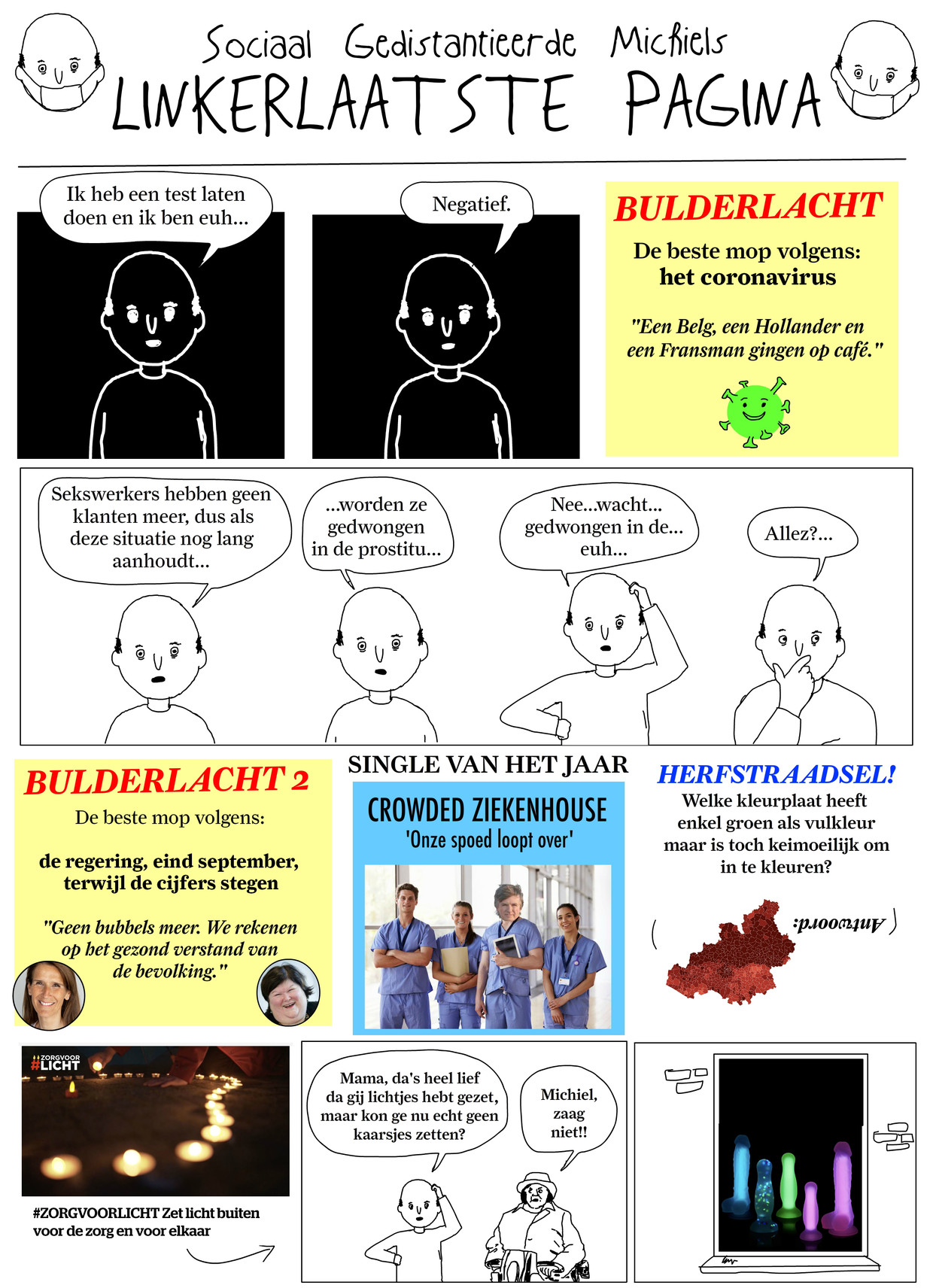 Sociaal incapabele michiel - week 45 Beeld Tom Borremans | Humo