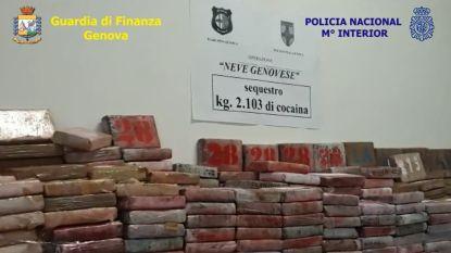 Grootste vangst in 25 jaar: Italië neemt twee ton pure cocaïne in beslag, met waarde van 500 miljoen euro, door drugs te verwisselen met zout