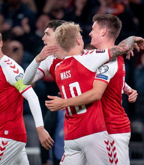 Denemarken pakt WK-ticket, hattrick Ronaldo, drama voor Van 't Schip en goals voor Tadic en Zahavi